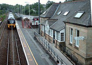 Menston railway station Railway station in West Yorkshire, England