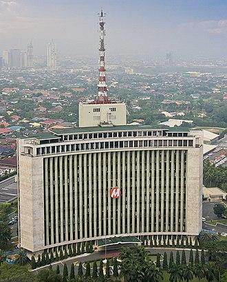 Meralco - Meralco (López) Building along Ortigas Avenue, Pasig, Metro Manila.