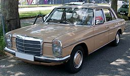 Mercedes W115 front 20080701