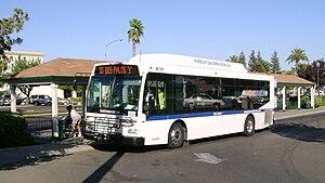 Merced County Transit - Image: Mercedthebus M 101
