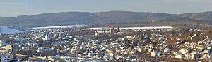 Meschede - View over Meschede