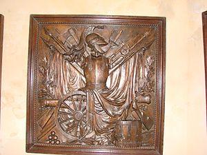 Musée national de la Marine - Image: Metal plate (Musée national de la Marine)