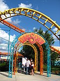 Michigans Adventure - Corkscrew entrance.jpg