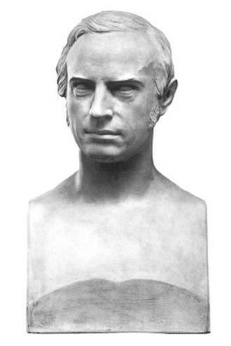 Johan Sebastian Welhaven - Bust of Johan Welhaven (1867)  Nasjonalgalleriet