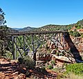 Midgley Bridge, Oak Creek Canyon, AZ 9-15 (22522252456).jpg