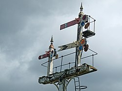 Midland Railway bracket signal (6093683705).jpg
