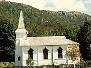 Midtgulen Church - Image: Midtgulen Kjelkenes kirke