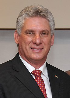 Miguel Díaz-Canel 17th president of Cuba