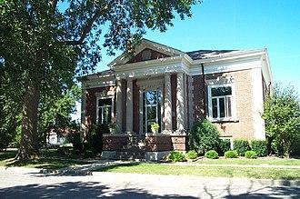 Milford, Illinois - Image: Milford Illinois Library