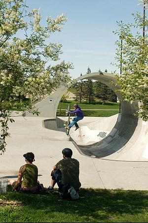 Millennium Park (Calgary) - The Fullpipe at Shaw Millennium Park