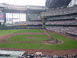 Miller Park is the home stadium of Major Leagu...