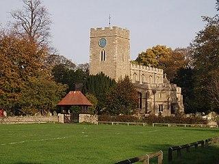 Milton Ernest farm village in the United Kingdom