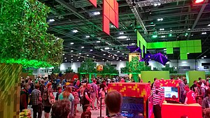 MineCon - The Expo Hall at MINECON 2015