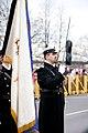 Ministru prezidents Valdis Dombrovskis vēro Nacionālo bruņoto spēku vienību militāro parādi 11.novembra krastmalā (6357772215).jpg