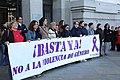 Minuto de silencio por el asesinato de una mujer en Loeches, víctima de la violencia de género 03.jpg