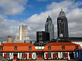 Mobile, Alabama, skyline as seen from Fort Conde.jpg