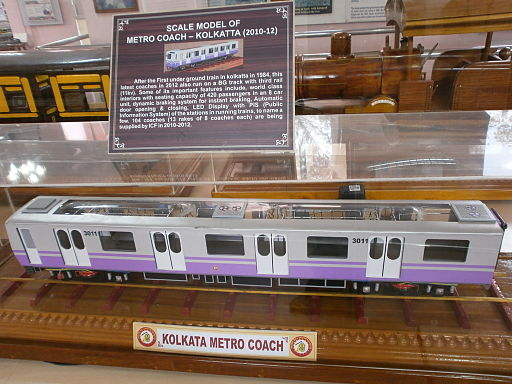 Model-of-Metro-Coach-Calcutta