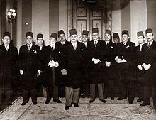 الملك فاروق أعلام القاهرة