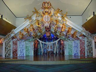 Museum of New Zealand Te Papa Tongarewa - Rongomaraeroa is Te Papa's marae