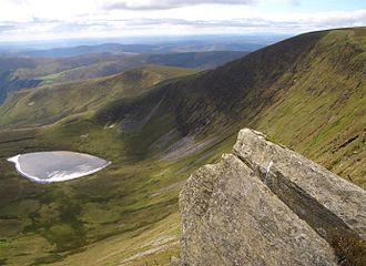 Berwyn range - Summit of Moel Sych