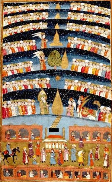 تصور اولیه هفت آسمان