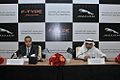 Mohammed Yousuf Naghi Motors unveils Jaguar F-TYPE in Jeddah, KSA (9005508362).jpg