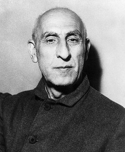 Mossadegh, PM of Iran - Mohammad Mosaddegh