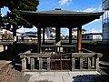 Momument which shows the Emperor Meiji praised GAMO Kumpei.jpg