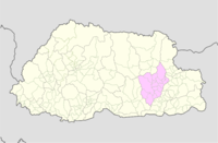 Mongar Bhutan location map.png