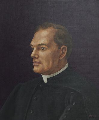 Cardinal Vaughan Memorial School - Monsignor Canon Vance