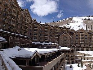 Montage Hotels & Resorts - Montage Deer Valley in Park City, Utah. Photo taken in 2012.