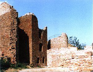 Hallgarten (Pfalz) - Ruins of Montfort Castle