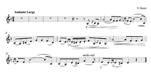 PDF CZARDAS MUSIC VIOLIN SHEET
