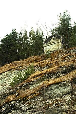 Battle of Kringen - Monument in Otta over the battle site
