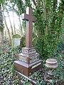 Monument to Frank Herbert Madley London Rifle Brigade St Pancras and Islington Cemetery.JPG