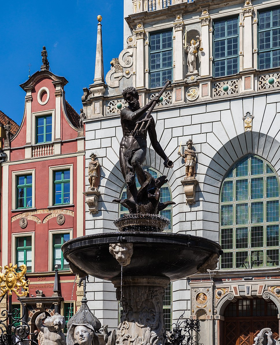 Monumento Neptuno, Gdansk, Polonia, 2013-05-20, DD 01