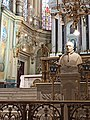 Monumento a Benedicto XV en Catedral Basílica de León, Guanajuato.jpg