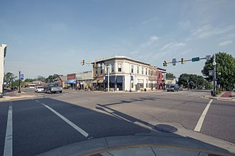 Mooresville, Indiana - Downtown Mooresville