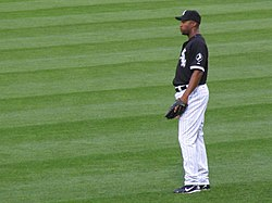 Jermaine Dye in der Uniform der White Sox
