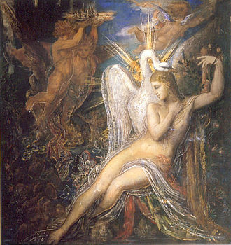 Leda (mythology) - Leda, by Gustave Moreau