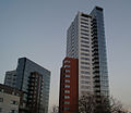 Moresby, Hawkins towers.jpg