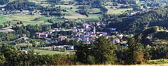 Morfasso - Panorama of Morfasso