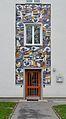 """Mosaic """"Wald"""" by Toman Emil, Schlöglgasse 71, Hetzendorf.jpg"""