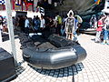 Motor Rubber Boat Display at Marine Special Force Equipment Corner 20130608a.jpg