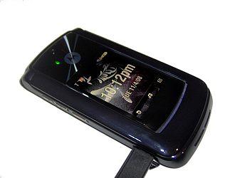 Motorola Razr2 - Image: Motorola RAZR2 V9m