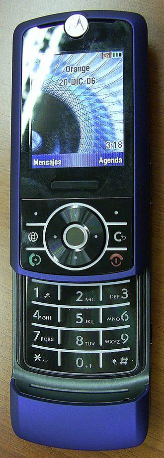 Motorola Rizr - Image: Motorola RIZR Z3 02