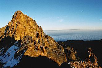 Mount Kenya - Image: Mount Kenya