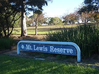 Mount Lewis, New South Wales Suburb of Sydney, New South Wales, Australia