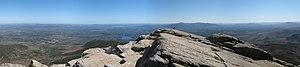 Mount Chocorua - Southern panoramic view from the summit of Mount Chocorua
