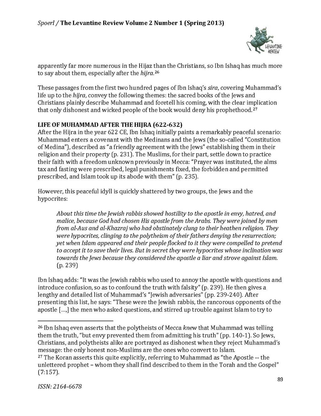 Page:Muhammad and the Jews According to Ibn Ishaq pdf/6 - Wikisource